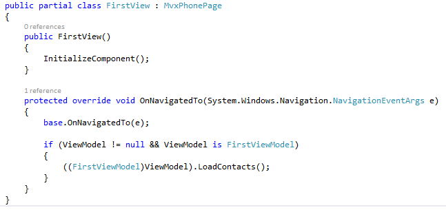 32-FIRSTVIEW.XAML.CS